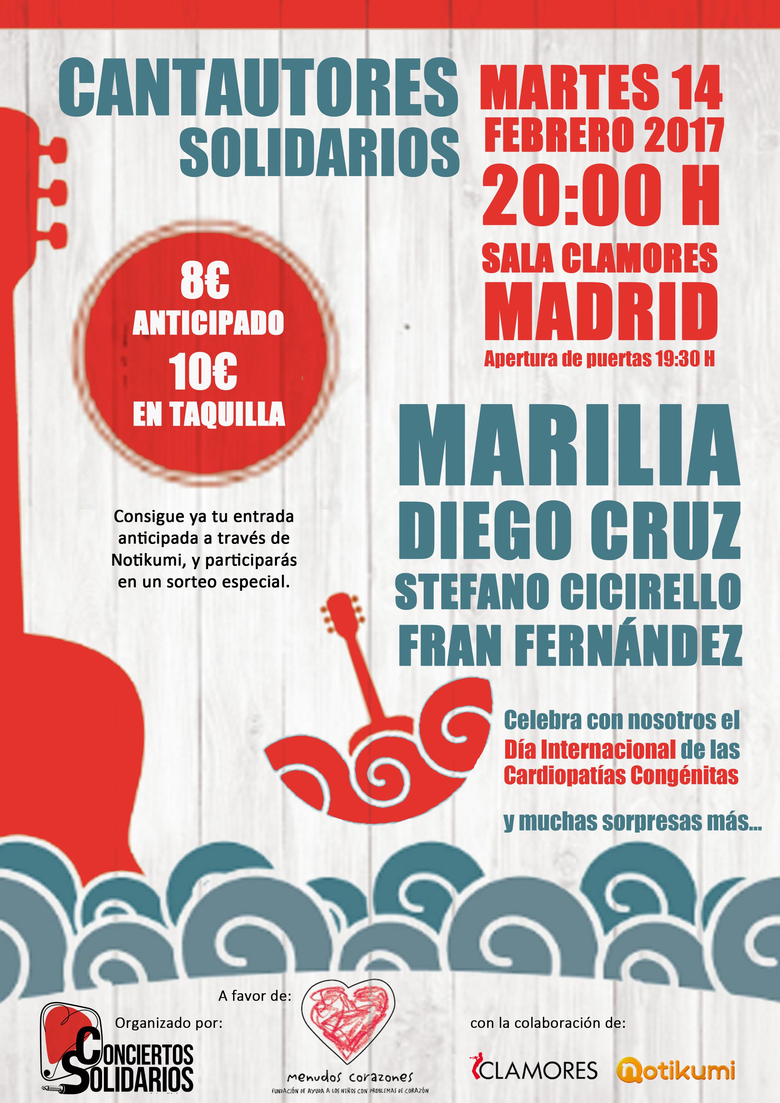 Concierto Solidario Madrid